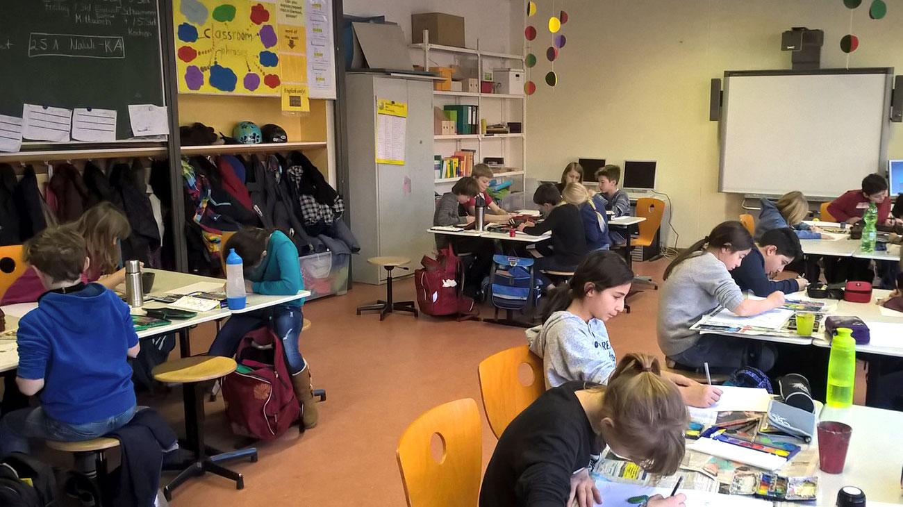 Grundschule in Berlin Kreuzberg: Unterricht an der Charlotte-Salomon-Grundschule