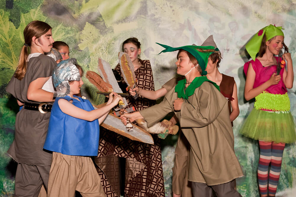 AG Englisches Theater: Robin Hood