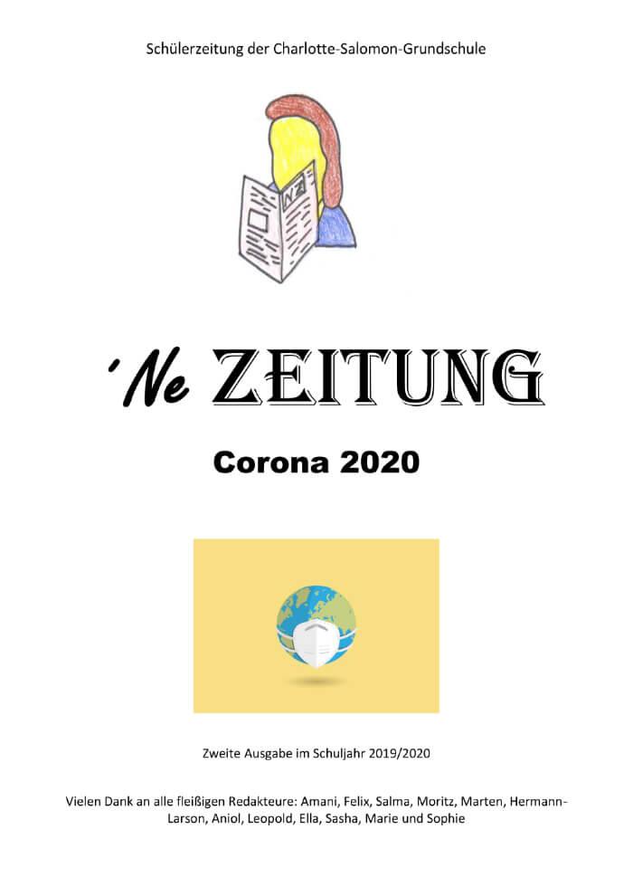 Schülerzeitung 2020 – Corona