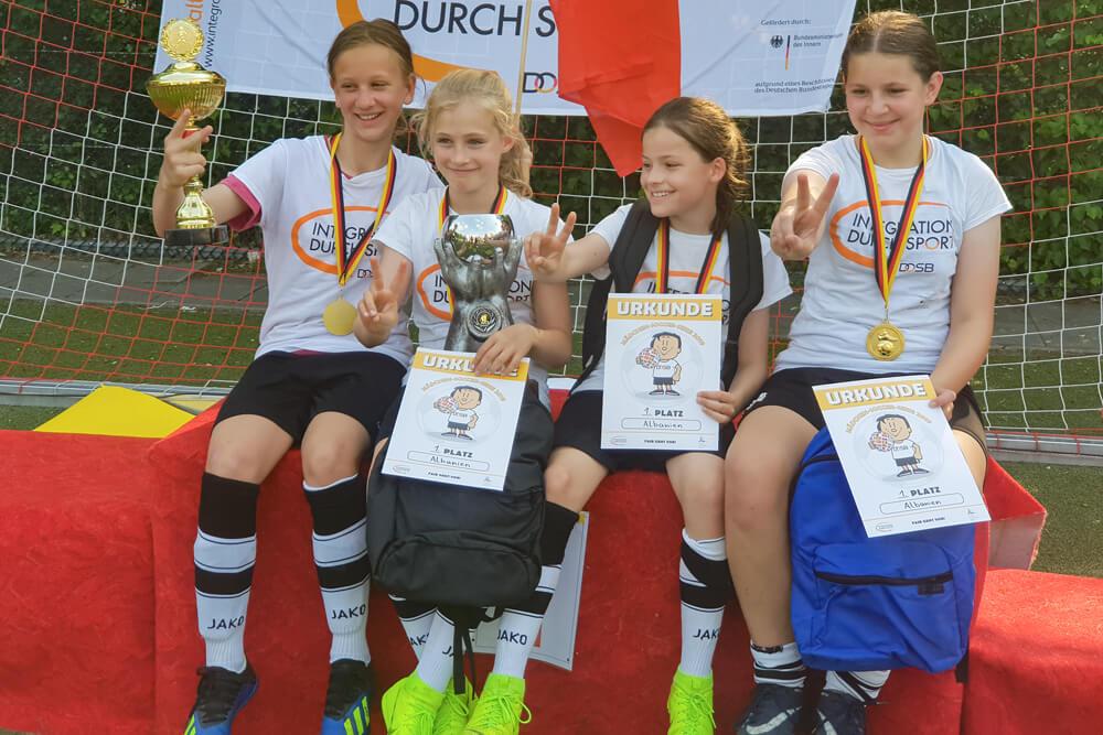 LSB-Soccer-Turnier 2019: Wir sind Berliner Sieger!