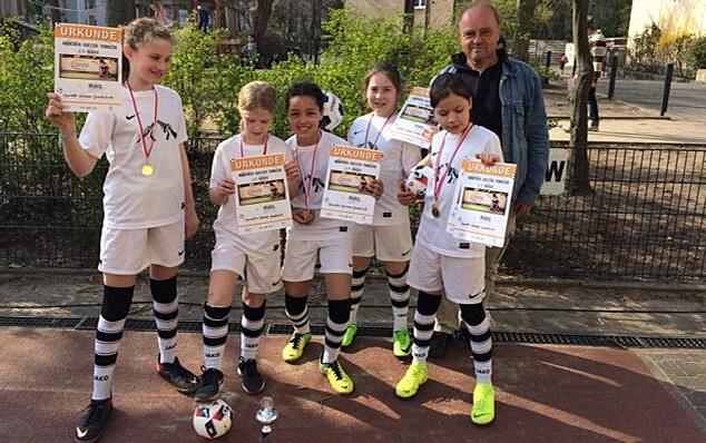 Siegerpokal im Soccerturnier 2019 der 3./4.Klassen